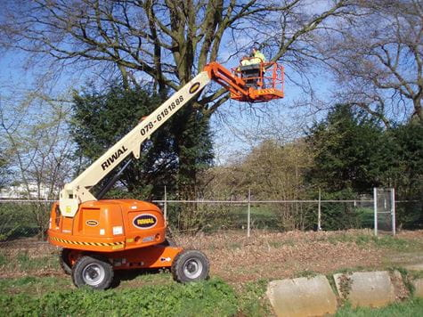 Boom Lift | Aerial work platforms | Riwal