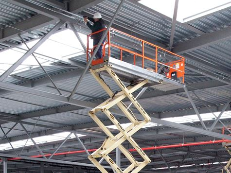 Aerial work platforms   Scissor lifts   Riwal