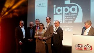 IAPA Awards | Riwal winner | Riwal news | Aerial work platforms | Riwal