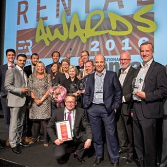 Rental company of the year | Riwal