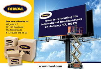 Headquarter moving | Riwal
