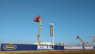 Maasvlakte | Aerial work platforsm | Articulated boom lift | Riwal