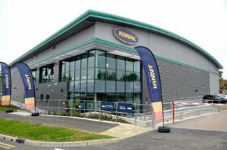 Det nye Riwal UK depot i London