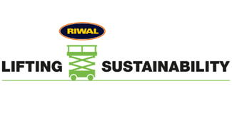 Lifting Sustainability logo by Riwal