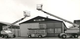 Riwal's history | Aerial work platform | Riwal | Scissor lifts | Boom lifts