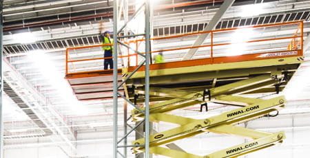 Value proposition Riwal | Racking system | Warehouse | Aerial work platforms | Scissor lifts | Riwal