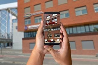 Augmented Reality My Riwal Rental App