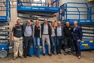 Riwal supplies 80 new machines to AFI GmbH