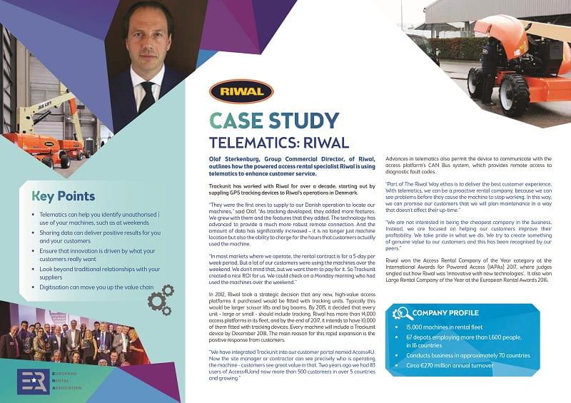Riwal Case Study Telematics
