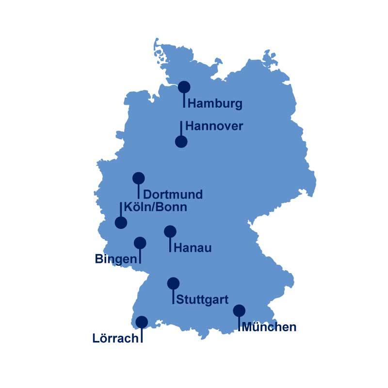 Riwal Niederlassungen Deutschland