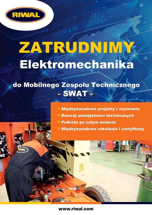 Elektromechanik – Mobilny zespół techniczny SWAT
