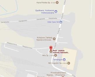 Adres RIWAL Kraków