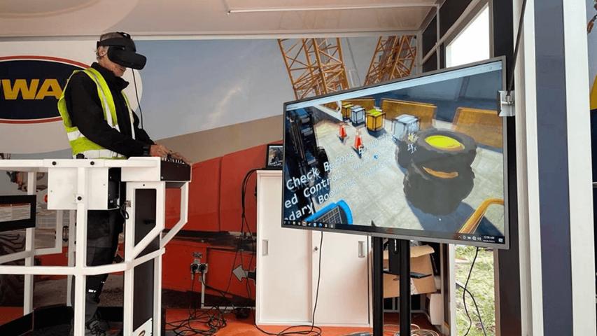Symulator jazdy VR na Tygodniu Bezpieczeństwa 2021
