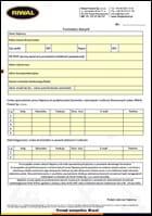 Formularz danych Riwal