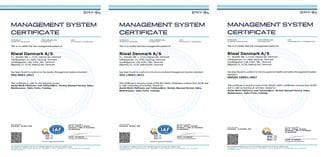 Riwal ISO 9001 14001 18001