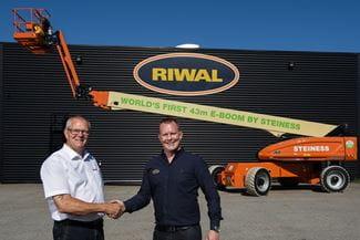 Riwal sælger til Steiness