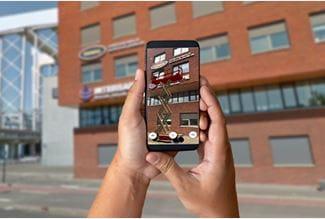 Augmented Reality tilgængeligt i MitRiwal App