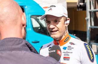Quaade - Riwal | DR Interview | PostNord Danmark Rundt