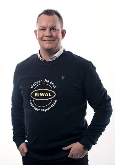 Jesper Becker Nielsen, Sales Manager Equipment Riwal Scandinavia