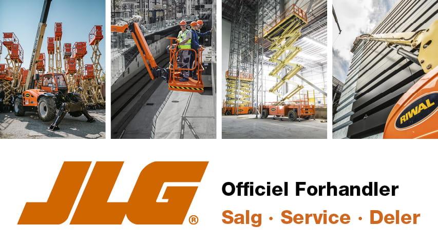 Riwal Norge officiel forhandler av JLG maskiner