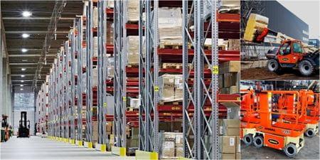 Riwal najem opreme ljubljana split zagreb prodaja dvižne košare ploščadi teleskopski viličarji usposabljanja delo na višini industirja avtokošare JLG rezervni deli Genie Manitou servis logistika