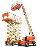 Riwal Scissor Lift and Telescopic Boom Lift