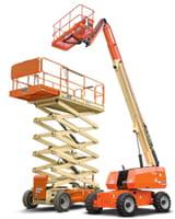 Riwal Scissor Lift and Telescopic Boom Lift