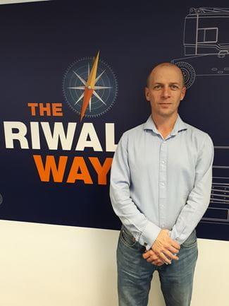 Riwal UK Technical Business Analyst Mark Tiffany