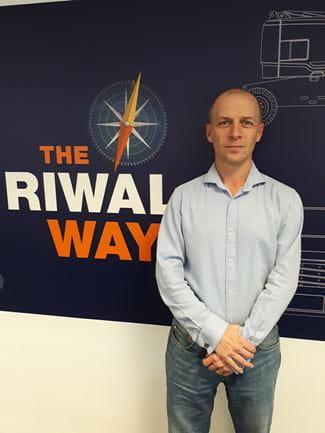 Riwal UK Technical Business Analyst Mark Tiffany