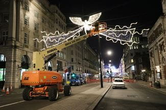 Regents street Christmas lights