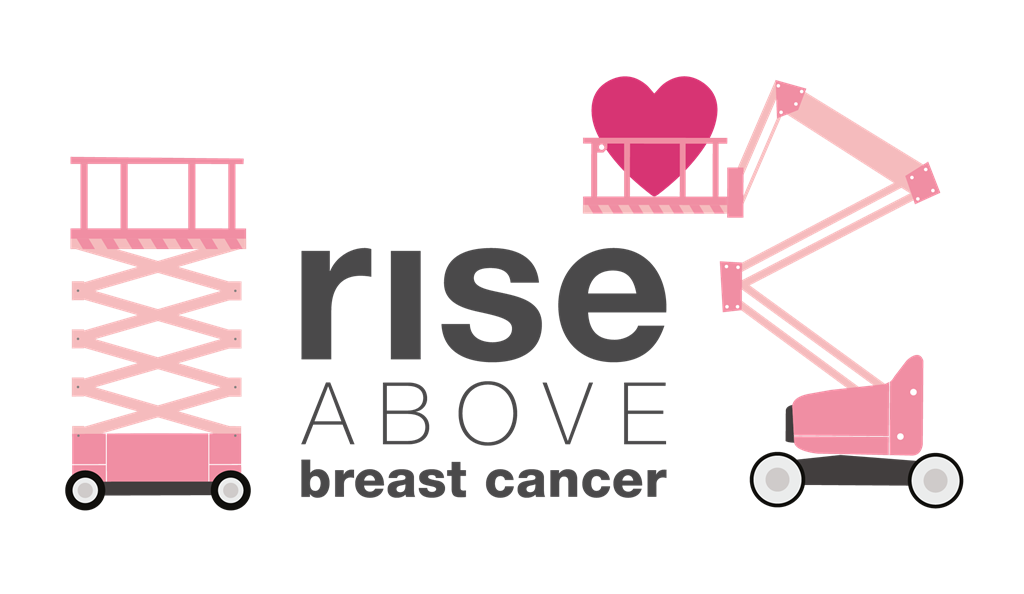 Rise Above Breast Cancer logo