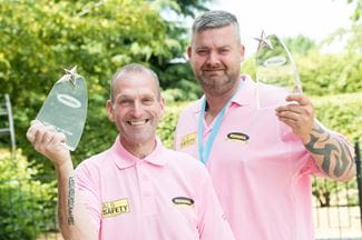 Riwal - Star performers recognised with employee awards