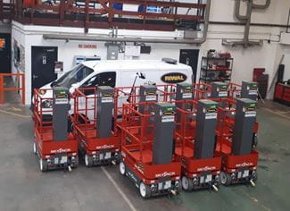 New low-level powered access additions to the Riwal hire fleet
