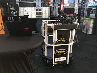 Riwal Simulator at IPAF stand
