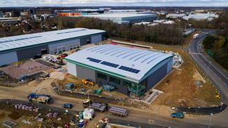 Riwal UK new London North depot Prologis Hemel Hempstead
