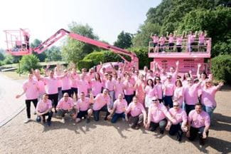 Riwal team - Breast Cancer Now launch