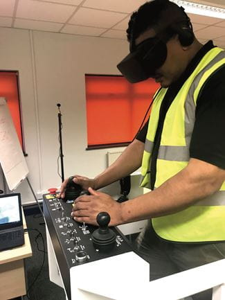 VR Simulator training
