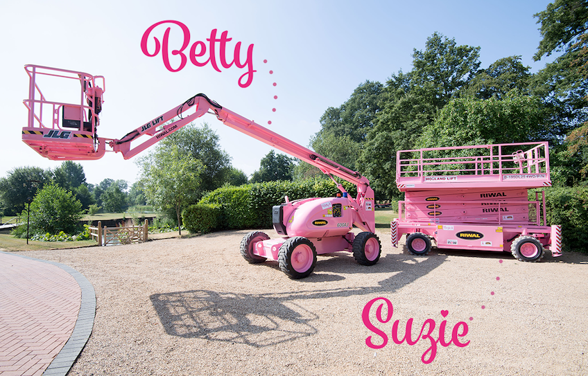 Betty & Suzie - Pink machines