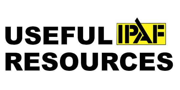 Useful IPAF Resources