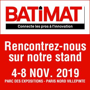 Retrouvez Riwal France au salon Batimat du 4 au 8 novembre 2019 !