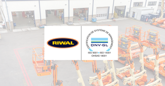 Triple certification ISO - Riwal France