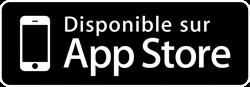 Notre application est disponible Gratuitement sur l'App store