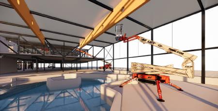 BIM c'est la technologie de modélisation 3D des bâtiments et machines