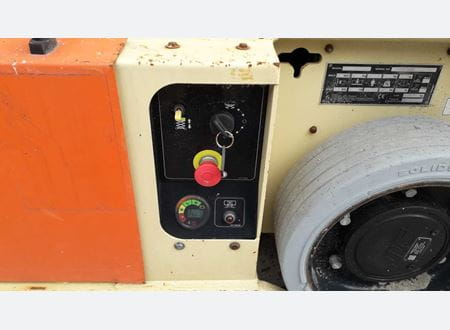 Lower control panel