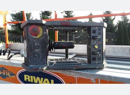 Upper control panel