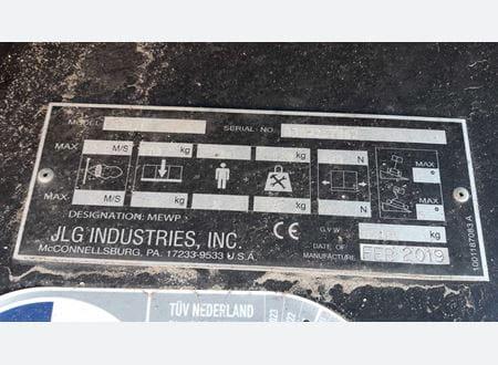 CE type plate