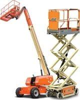 Riwal najem opreme prodaja servis rezervni deli usposabljanja dvižne košare platforme kobra  ljubljana zagreb split varno delo na višini