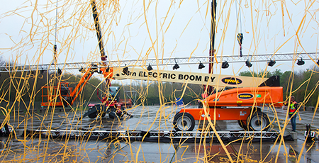 100% electric boom lift launch | full electric 38 m boom lift | Aerial work platforms | Boom lifts | Riwal