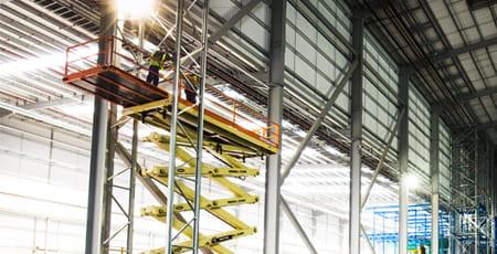 Corporate brochure | Aerial work platforms | Scissor lift | Riwal