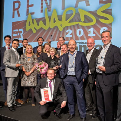 Rental company of the year | Riwal